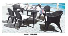 שולחן ראטן שחור - היבואנים