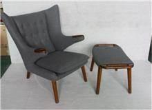 כורסא אפורה מעוצבת - היבואנים