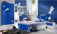 מיטת בנים כחולה - היבואנים
