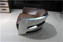 כורסא מעוצבת מעור איטלקי - היבואנים