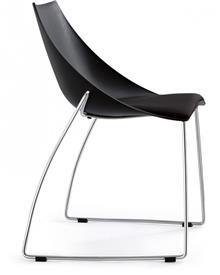 כסא שחור לפינת אוכל - היבואנים