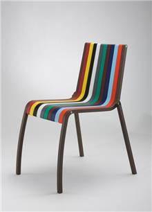 כסא פסים צבעוני - היבואנים
