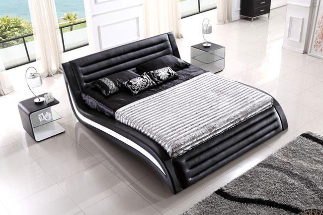 מיטת עור מודרנית