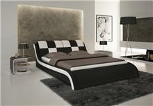 מיטה בצבע שחור לבן - היבואנים