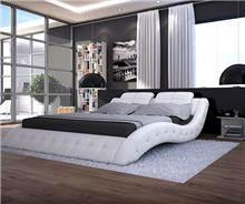מיטה זוגית עור - היבואנים