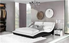 מיטה מעוצבת מעור - היבואנים