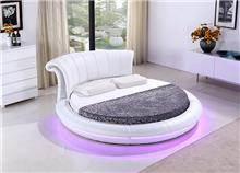 מיטה לבנה עגולה - היבואנים
