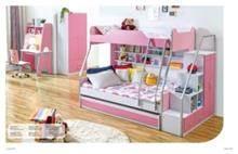 מיטת קומותיים בגוון ורוד - היבואנים
