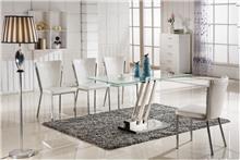 שולחן אוכל מזכוכית עמידה - היבואנים