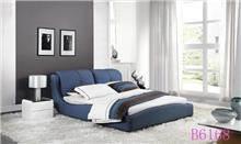 מיטה זוגית כחולה יוקרתית - היבואנים