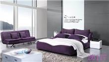 מיטה זוגית סגולה - היבואנים