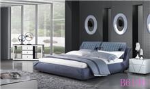 מיטה מרופדת תכלת - היבואנים