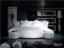 מיטה מרופדת לבנה - היבואנים