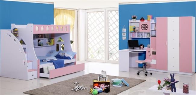 חדר ילדים ורוד