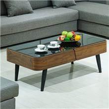 שולחן סלון שחור - היבואנים