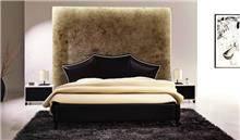 מיטה זוגית U503 BLACK - היבואנים