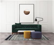 ספה תלת מושבית קפיטונאז' - היבואנים