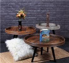 שולחן צד עגול - WA0014 - היבואנים