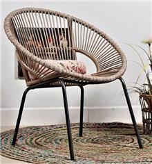 כיסא עגול - WA0027 - היבואנים