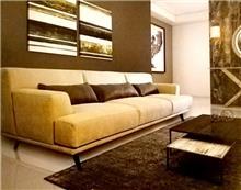 ספה תלת מושבית מקטיפה - היבואנים