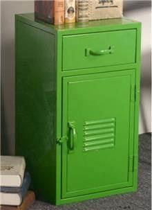 ארונית מתכת ירוקה