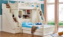 מיטת קומותיים עם מיטה זוגית A06 - היבואנים
