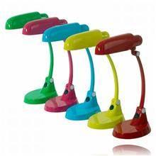 מנורות שולחן צבעוניות - שקע ותקע