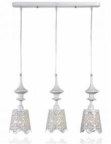 מנורת שלישיה לתקרה - שקע ותקע