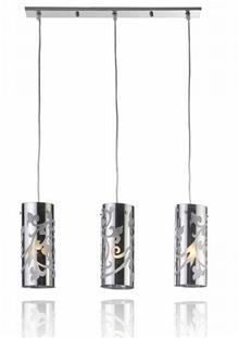 מנורת תקרה שלישיה - שקע ותקע