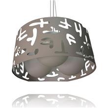 מנורה תלויה לסלון - שקע ותקע