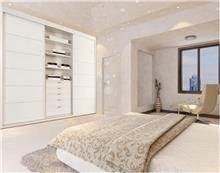 ארון לבן לחדר שינה