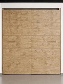 ארון דלתות צפות מעץ מלא
