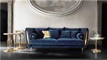 ספה כחולה יוקרתית - רהיטי מוביליה