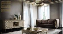 ספה אפורה יוקרתית - רהיטי מוביליה