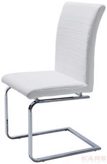 כסא לבן אלגנטי