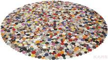 שטיח עגול צבעוני