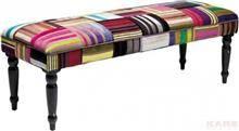 ספסל טלאים צבעוני