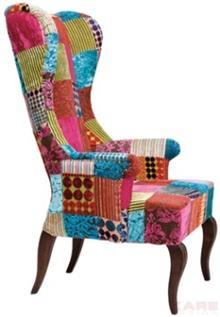 כסא טלאים מרופד