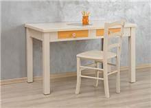 שולחן כתיבה מעץ מלא זיו - HouseIn - עודפים