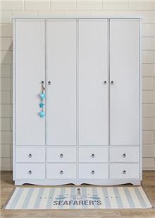 ארון 4 דלתות ניב - HouseIn - עודפים
