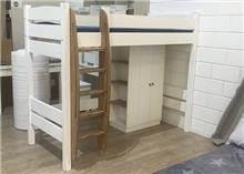 מיטת גלריה עם יחידת אחסון - HouseIn - עודפים