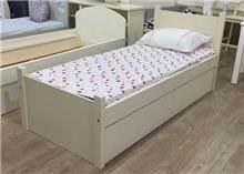מיטת ילדים מעץ מלא גל - HouseIn - עודפים