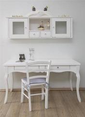 שולחן כתיבה עץ מלא לואי