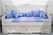מיטה עץ מלא וינטג'