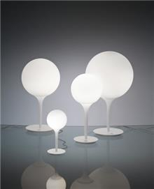 מנורת שולחן עגולה