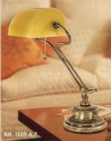 מנורת שולחן כפרית