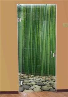 דלת מעוצבת לאמבטיה