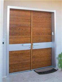 דלת כפולה מעוצבת - דקור - DECOR
