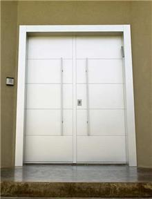 דלת כפולה לבנה - דקור - DECOR