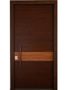 דלת חומה לבית - דקור - DECOR